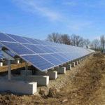 Solarpark Fundament groß