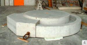 Brunnenbauwerk Kreissparkasse Sömmerda